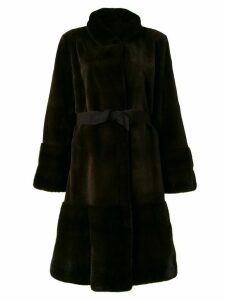 Liska Shirley belted coat - Brown