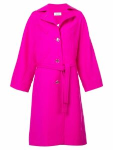 Courrèges oversized trench coat - Pink