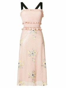Three Floor Smock And Spin dress - Pink