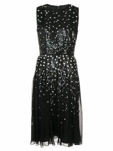 Carolina Herrera sequin embellished dress - Black