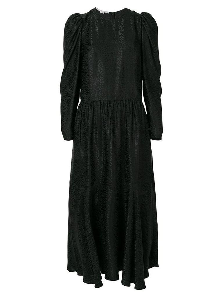 Stella McCartney textured midi dress - Black