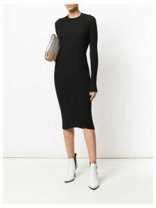 Maison Margiela ribbed knit dress - Black
