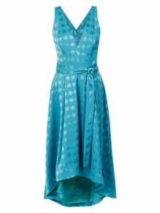 Tufi Duek polka-dot midi dress - Green