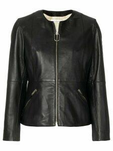Golden Goose zipped biker jacket - Black