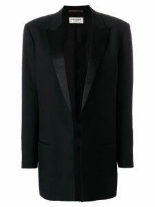 Saint Laurent boyfriend tuxedo blazer - Black