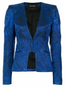 Tufi Duek printed blazer - Blue