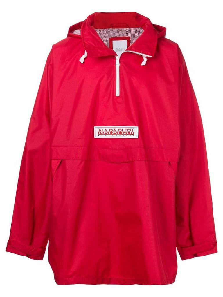Napa By Martine Rose logo rain jacket - Red
