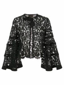 Carolina Herrera lace bolero jacket - Black