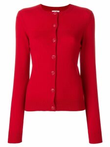 Barrie Halls of Ivy cashmere round neck cardigan - Red