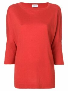 Snobby Sheep crew neck jumper - Red