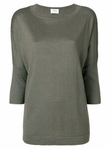 Snobby Sheep cropped sleeves jumper - Green
