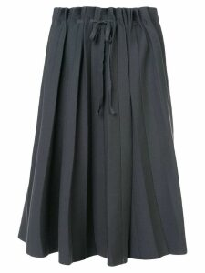 Label Under Construction pleated full skirt - Grey