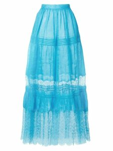 Ermanno Scervino high-waisted tulle skirt - Blue