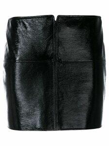 Courrèges mini skirt - Black