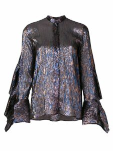 Petar Petrov Evan metallic shirt - Multicolour