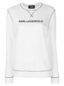 Karl Lagerfeld Karl's Essential sweatshirt - White