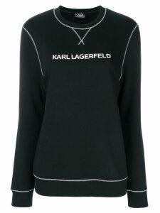 Karl Lagerfeld Karl's Essential sweatshirt - Black