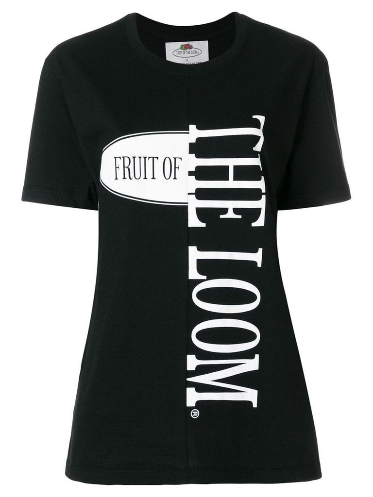 Cédric Charlier fruit of the loom T-shirt - Black