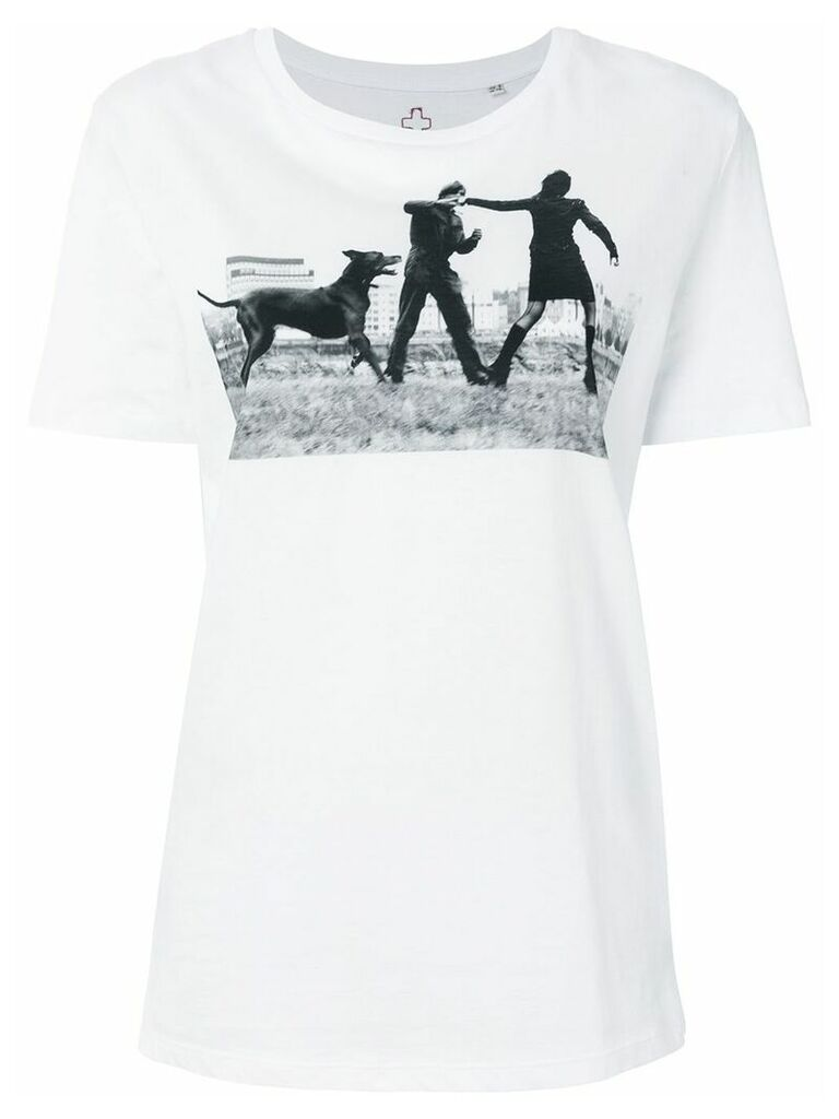 A.F.Vandevorst Dog T-shirt - White