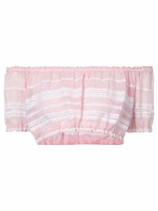 Lemlem striped crop top - Pink