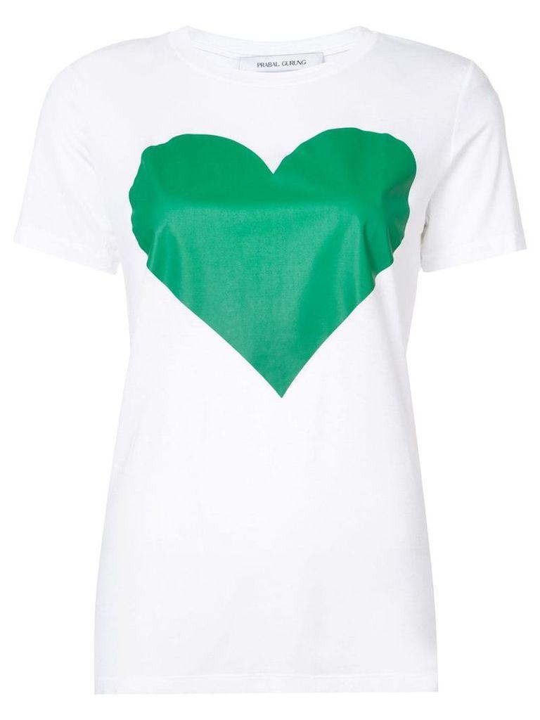 Prabal Gurung heart T-shirt - White