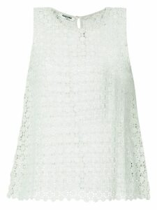 Max & Moi openwork lace vest - Green