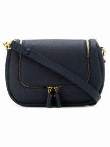 Anya Hindmarch double zip shoulder bag - Blue