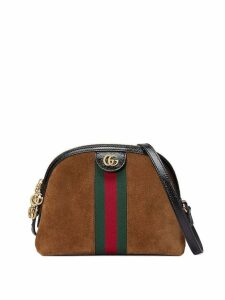 Gucci brown Ophidia small shoulder bag