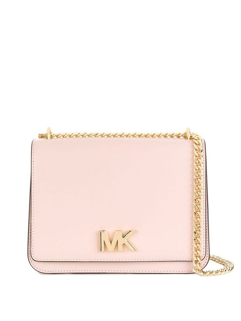 Michael Michael Kors large chain shoulder bag - Pink