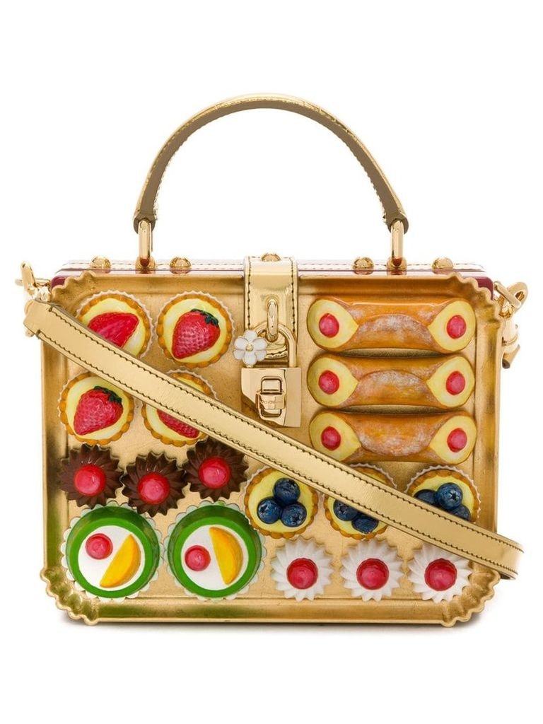 Dolce & Gabbana Dolce box shoulder bag - Multicolour