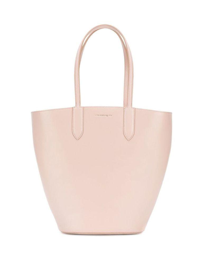 Alexander McQueen bucket tote - Neutrals