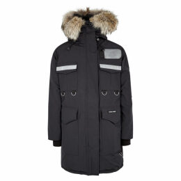 Canada Goose Resolute Fur-trimmed Arctic Tech Shell Parka