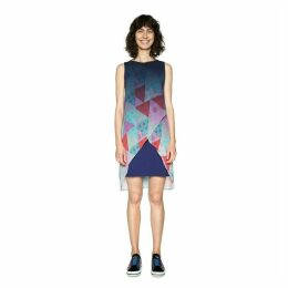 Short Graphic Print Dress