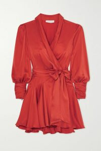 rag & bone - Preston Double-breasted Checked Wool And Cotton-blend Coat - Gray