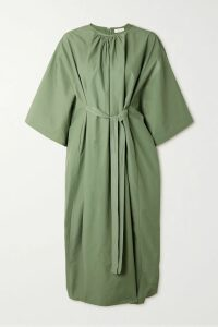 Prada - Metallic Brocade Coat - Green