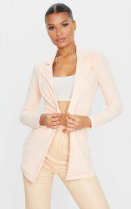 Nude Longline Blazer, Pink