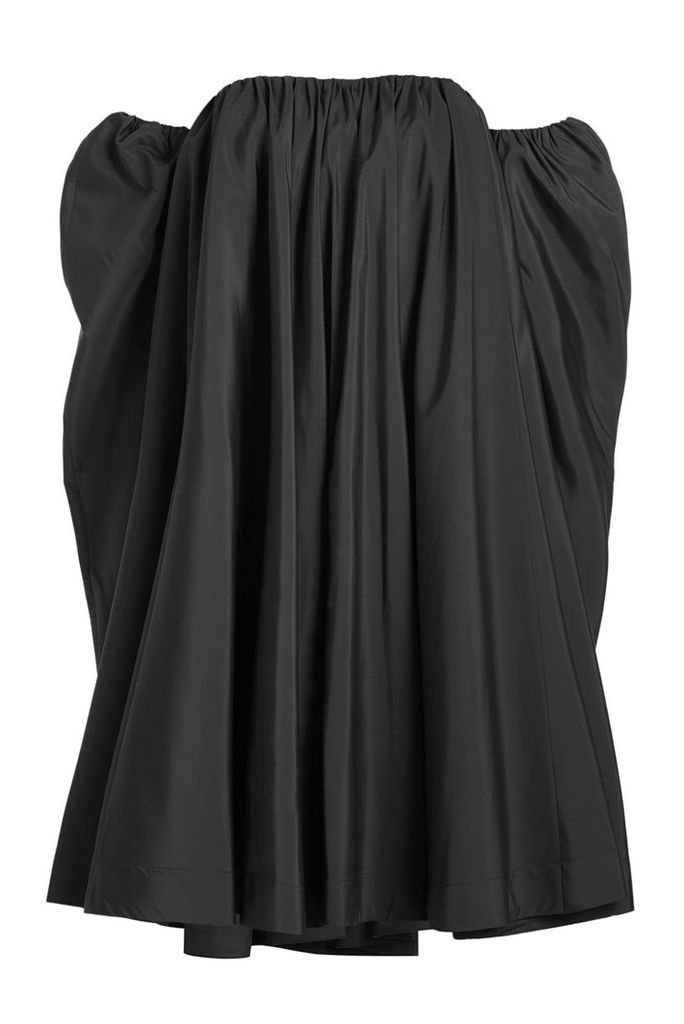 CALVIN KLEIN 205W39NYC Off The Shoulder Dress with Silk