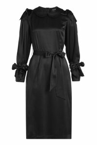 Simone Rocha Bow Sleeve Silk Dress