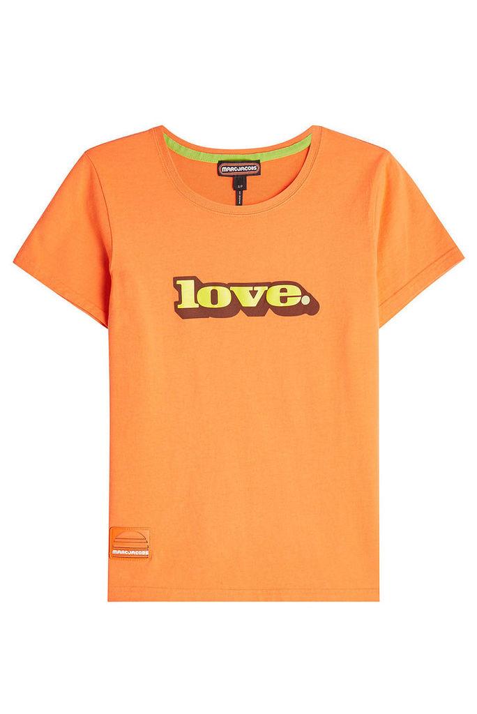 Marc Jacobs Love Cotton T-Shirt