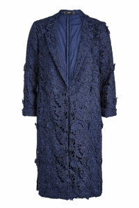 Steffen Schraut Embroidered Lace Coat