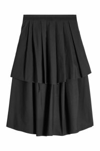 Brunello Cucinelli Tiered Cotton Skirt