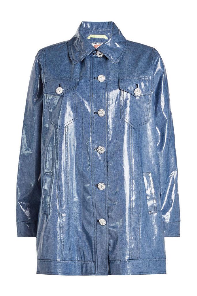 Shrimps Filippo Coated Cotton Coat