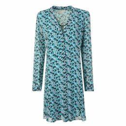 MICHAEL Michael Kors Floral Skater Dress