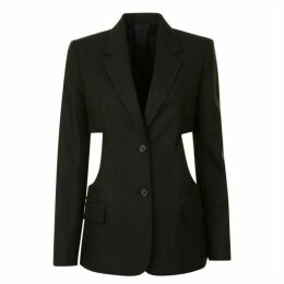 Helmut Lang Cut Out Blazer