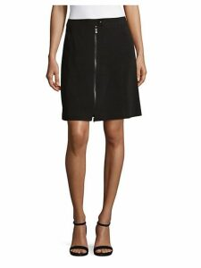 Classic Full Zip Pencil Skirt