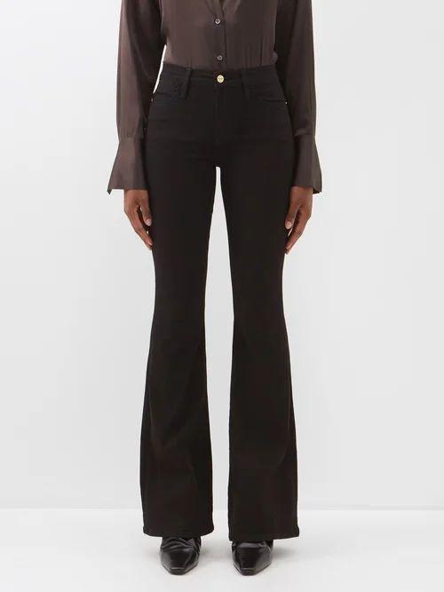 Marques'almeida - Feather Strap Bird Jacquard Cross Body Bag - Womens - Pink Multi
