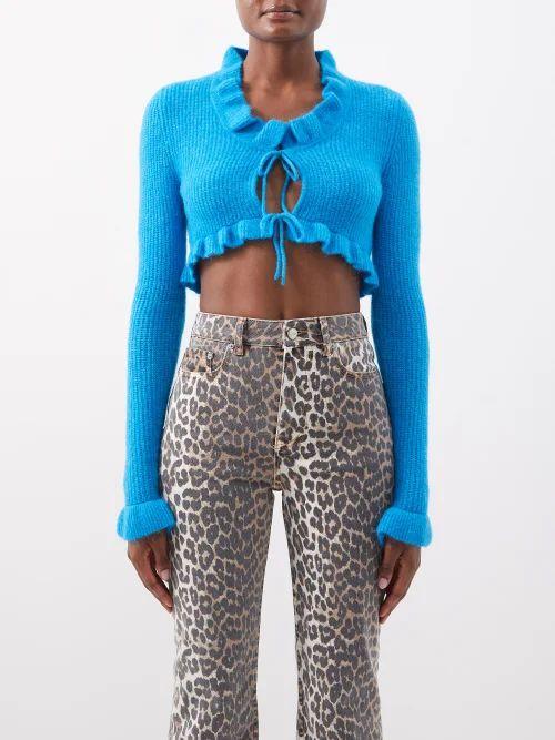 Norma Kamali - Camo Print Sleeping Bag Knee Length Coat - Womens - Camouflage