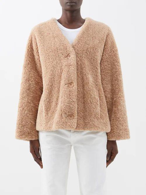 Mes Demoiselles - Forward Striped Cotton Shirt - Womens - Navy Multi
