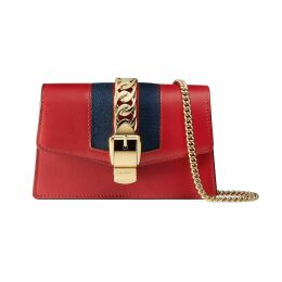 Sylvie leather super mini bag