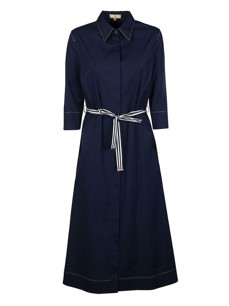 Fay Tie Waist Shirt Dress